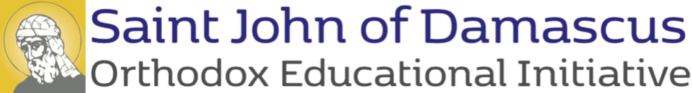 Saint John of Damascus Orthodox Educational Initiative